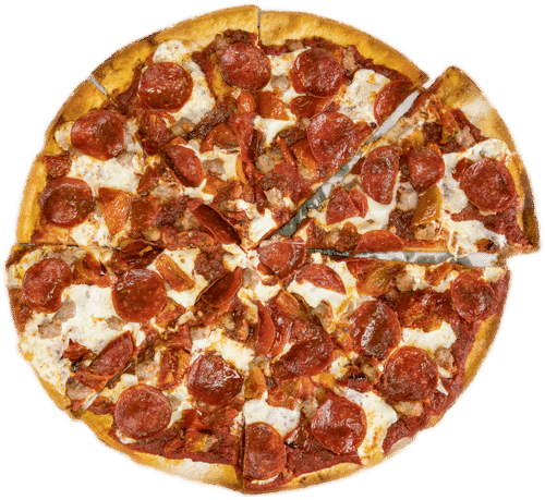 Pizza fresh mozz donatellis
